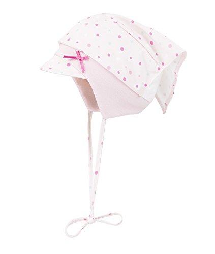 Döll Baby-Mädchen Mütze Kopftuch mit Schirm, Rosa (Pink 2720), 45