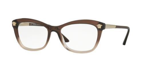 Versace - VE 3224,Oeil de chat acétate femme BROWN SHADED