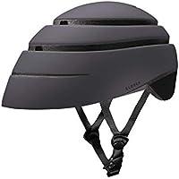 Closca Casco Helmet Loop_ Casco de Bicicleta Unisex Adulto (Negro/Negro, M)