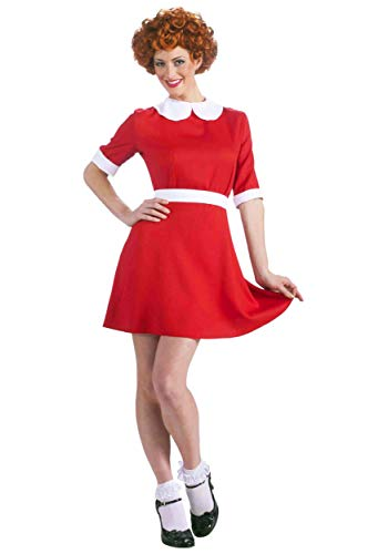 Adult Annie Fancy dress costume - Annie Musical Kostüm