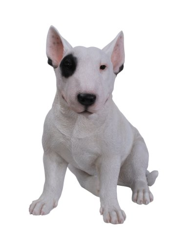Vivid Arts Chien Bull-Terrier, Ornement en Résine