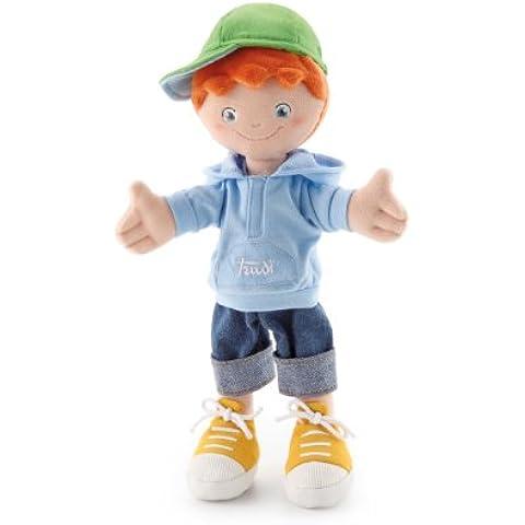 Trudi 64429 - Bambola Pezza, Boy, 30 cm