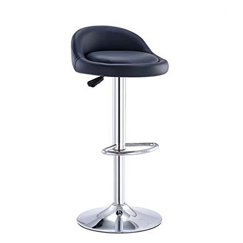 Lvyanfei lvyanfei Bar Swivel Chair Länge ist robust und bequem 80cm * 60cm (Color : Black) -