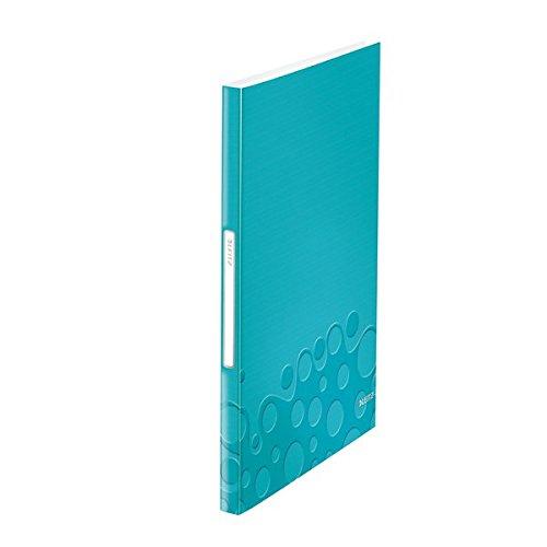 Leitz 46320051 Sichtbuch WOW, A4, PP, 40 Hüllen, eisblau - A2 Klarsichthülle