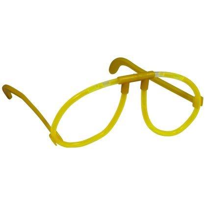 (Nerd Clear 10 x Leuchtbrille Partybrille Brille Brillen farbig)