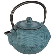 Ibili 620212 - Tetera hierro fundido Azul 1,2 l
