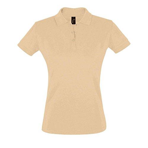 SOLS Perfect - Polo 100% coton à manches courtes - Femme Sable