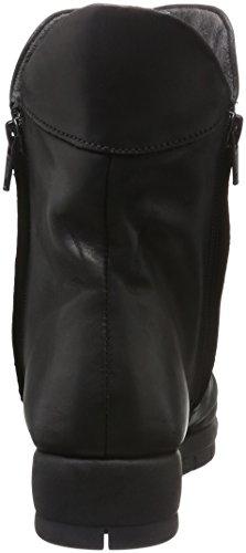 Aerosoles move up, bottes courtes femme Noir (Black)