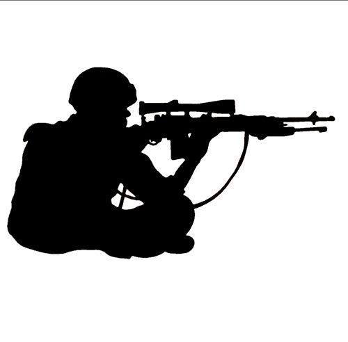 Militärsoldat Armee Männer Wandtattoo Große Größe VinylWandaufkleberDekorationPapier 42x71 cm