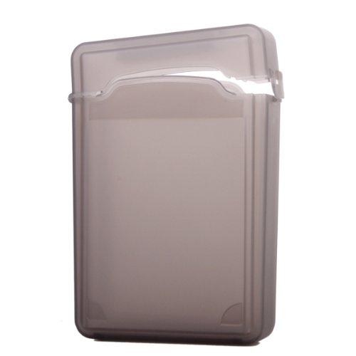 Schwarz Kunststoff Store Tank Schutzhülle für USB 3,5