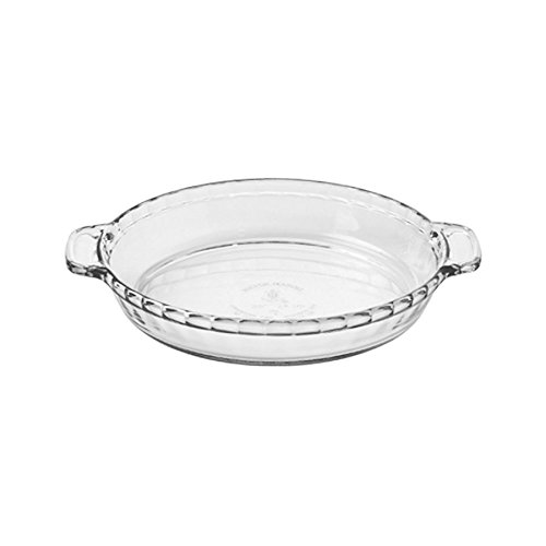 Anchor Hocking Basics Deep Pie Plate, 24cm diameter Tempered Glass