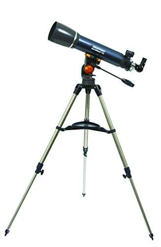 Best Price Celestron AstroMaster 102 AZ Telescope – Blue/Black on Amazon