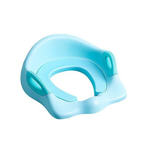 Gepolsterter Toilettensitz für Kinder Rutschfestes Kinder-Toiletten-Trainingsgerät aus Gummi Übungskissen for Kinder Abnehmbare Toilette for die meisten Toiletten zu Hause geeignet Schnell und einfach