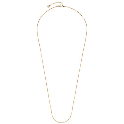 Leonardo Jewels Damen Kugelkette Darlin\'s Ball gold Edelstahl 85 cm   016309