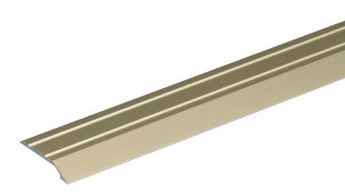 GAH-Alberts 490621 Ausgleichsprofil - selbstklebend, Aluminium, sandfarbig eloxiert, 900 x 39 mm