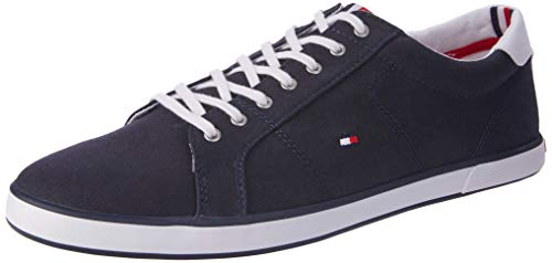 Tommy Hilfiger Herren H2285ARLOW 1D Low-Top, Blau (Midnight 403), 46 EU