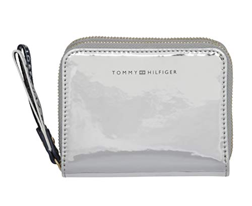 Tommy Hilfiger Iconic Tommy Medium Double Zip Around Wallet Metallic