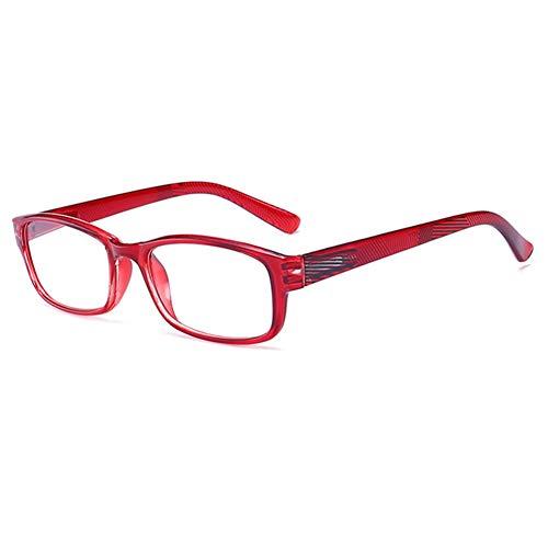 YUNCAT Gafas de Lectura Unisex con Lentes de Aumento para Leer Wayfarer...