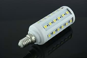 Ampoule LED E14 7W 44 SMD 5050 220V Blanc chaud d'économie d'énergie SLM-0093