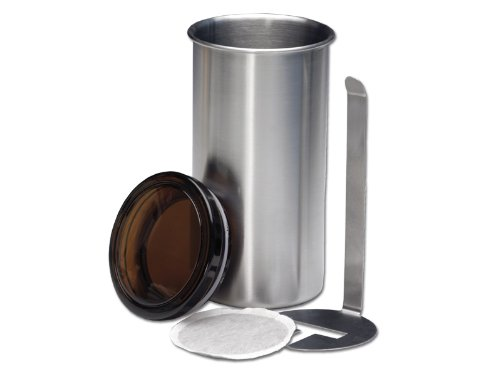 CHG 3186-00 Kaffeepad-Dose ø 8,5 cm Höhe: 16,5 cm