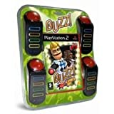 NEW & SEALED! Buzz! The Sports Quiz 4 Buzzers Sony Playstation 2 PS2 Game UK PAL
