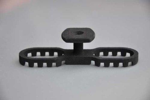 Terraflex mit Bohrschraube C1 schwarz 120 Stück (0,62€/Stück)