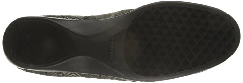 Aerosoles Teashop Synthétique Chaussure Plate Black-Tan