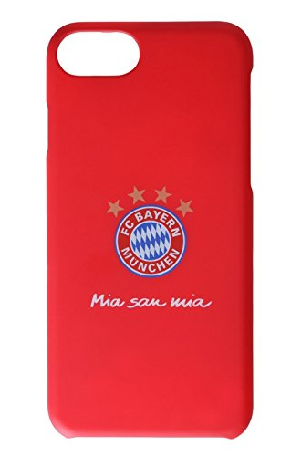 Back Cover FC Bayern München Rot Mia San Mia - iPhone 6 / 6S oder iPhone 7 (iPhone 7)
