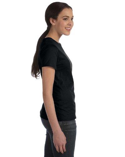 Everybody's Gay auf American Apparel Fine Jersey Shirt schwarz
