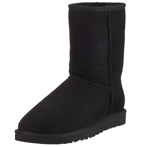 UGG Australia Men's Classic Short Boot,Black,16 M