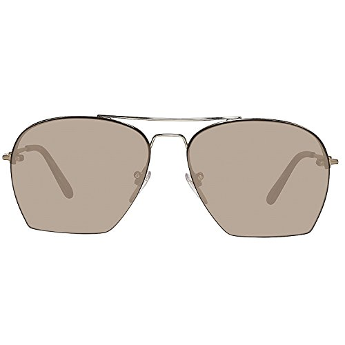 Tom Ford Unisex-Erwachsene Sunglasses Ft0505 28E 58 Sonnenbrille, Gold,