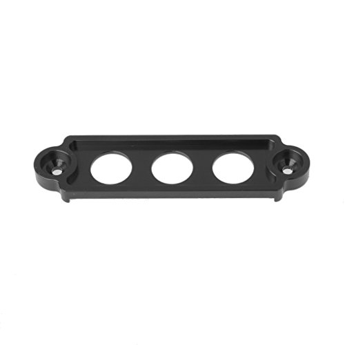 B Blesiya Porte-Batterie Noir Couvercle du Compartiment Couvercle Lat/éral pour Honda