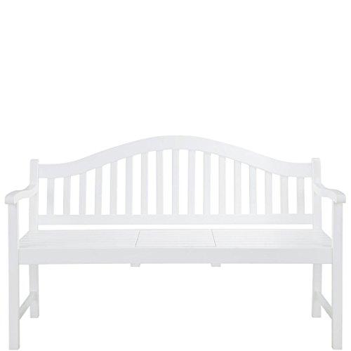 BUTLERS BANQUETTE Bank mit aufklappbarem Tisch - Gartenbank - Landhausstil - Akazienholz - 140 x 60 x 90 cm