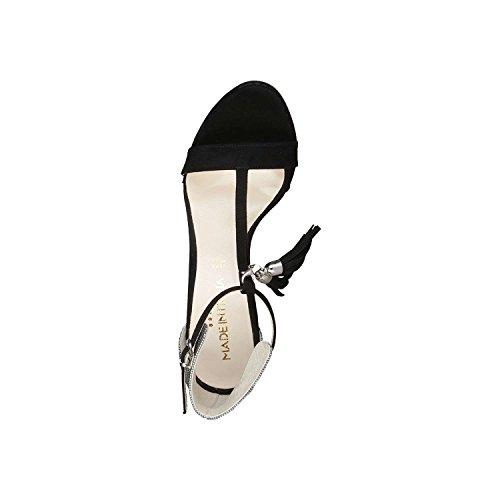 Made In Italia - LISA-P Sandali Donna Tacco 12 cm Piattaforma 2 cm Nero