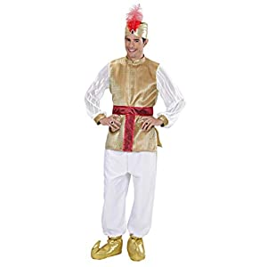WIDMANN wid02333?Disfraz para adultos Sultano, multicolor, L