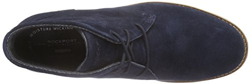 Rockport Ledge Hill Too Chukka, Bottines Chukka non doublées homme Bleu (New Dress Blues)