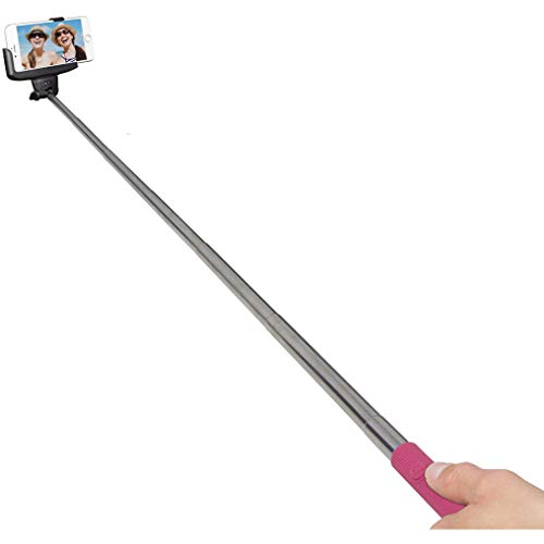 Kit - Vision Bluetooth Selfie Stick Pink W510 Bluetooth