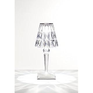 Kartell BATTERY Lampe, cristal