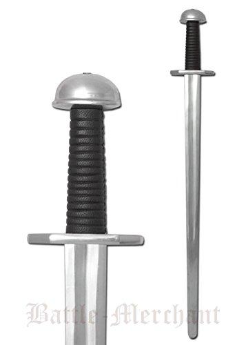 Preisvergleich Produktbild Wikingerschwert,  für leichten Schaukampf,  SK-C von Battle-Merchant - Echtes Metall Schwert