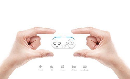 QUMOX 8bitdo SNES30 Zero Bluetooth Controller Gamepad für IOS / Android / Windows / Mac