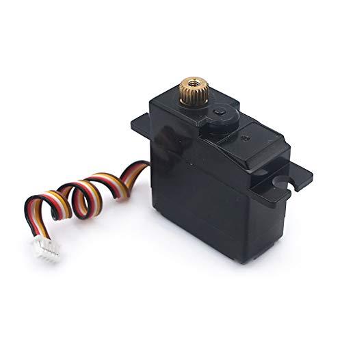 RC Servo - Motor de alta velocidad para coche todoterreno teledirigido Wltoys A949 A959 A969 A979 A959-A A969-A RC Offroad (17 G, metal)