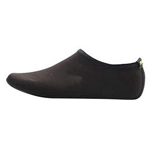 Karidesh Neue Strandsocken Schnorcheln Überschuh Ausrüstung Schwimmen Tauchen Socken Schnorcheln Socken Schwimmen Socken Set Slip (Color : Black, Size : L)