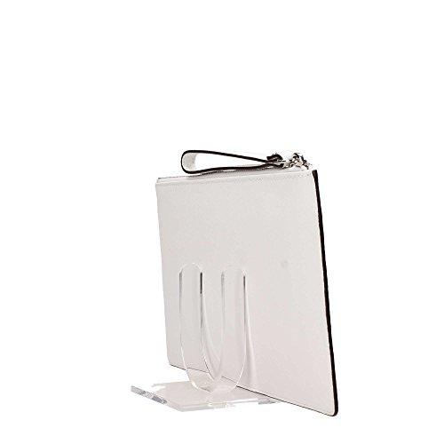 Michael Kors 35S75V1W3L Pochette Accessori Bianca
