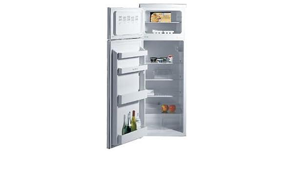 Retro Kühlschrank Ebd : Ebd kühl gefrier kombination dt 2351 weißlackiert: amazon.de