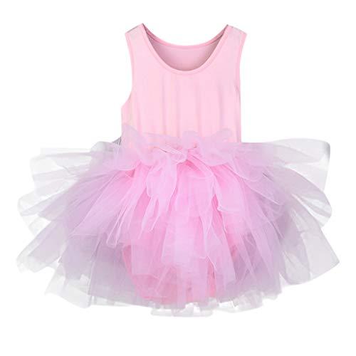 Bambina danza classico un-pezzo abito per balletto ginnnastica vestito principessa per spettacolo di feste costume per halloween natale carnevale dancewear leotard baiomawzh