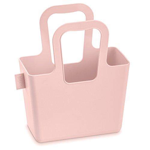 Koziol tasche taschelini, Plastica, Powder Blue, 7.8x 16.1x 18.3cm, Plastica, Verde senape, 78x161x183 cm Rosa cipria
