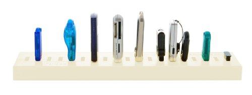 USB-Parkplatz (zur Lagerung von USB-Geräten, USB 2.0- und 3.0-kompatibel, für USB-Sticks und USB-Geräte geeignet, Büro-Accessoire oder Geschenk, das Aufräumutensil) - 2