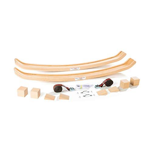 Köglis Allround Swing K220 - Untergestell aus Holz für - Schaukelpferd - Schaukelstuhl - Babywippe - Schaukelsessel - bis 250KG belastbar inkl Sonderzubehör