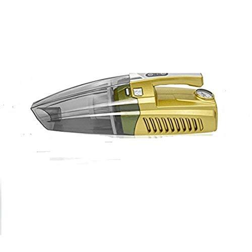 HSDMWJD Handstaubsauger Auto aufblasbar Staubsaugen Beleuchtung Reifendruck Monitoring Use Zigarettenanzünder Supply Staubsauger Auto Staubsauger ( 4-in-1)
