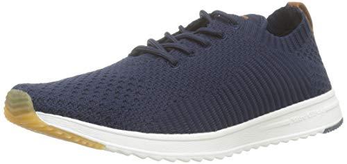 Marc O'Polo Herren Sneaker, Blau (Navy 890), 46 EU